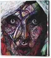 Rita Dambook Remixed Canvas Print