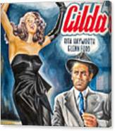 Rita Hayworth Gilda 1946 Canvas Print