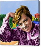 Rita Pavone Collection - 1 Canvas Print
