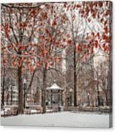 Rittenhouse Snowscape Canvas Print