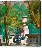 Rittenhouse Square Canvas Print