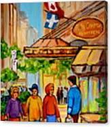 Ritz Carlton Montreal Sherbrooke Street Canvas Print
