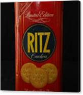 Ritz Crackers Canvas Print