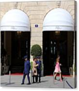 Ritz Hotel Paris Canvas Print