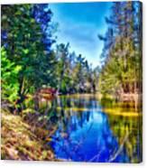 River Bend View Canvas Print