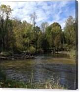 River Bends Canvas Print