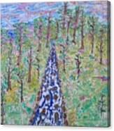 River Dayz Canvas Print