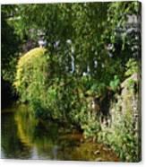 River Eea Cartmel Cumbria Canvas Print