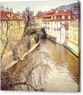 River Ends Canvas Print