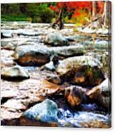 River Gone Canvas Print