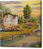 River Home Canvas Print
