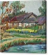 River Home  Minature Canvas Print