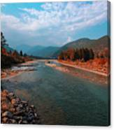 River In The Kingdom Of Happiness Canvas Print