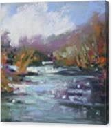 River Jewels Canvas Print