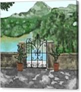 River Oaks Ranch Canvas Print