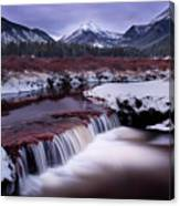 River Of Glass Canvas Print