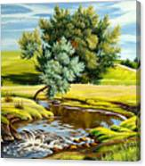River Of Life Canvas Print
