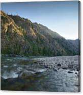 River Of No Return Canvas Print