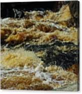 River On The Rocks IIi Canvas Print