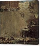 River Rats Canvas Print