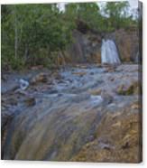 River Rushing Through Canvas Print