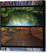 River Seasons Canvas Print