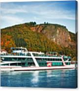 River Ship Canvas Print