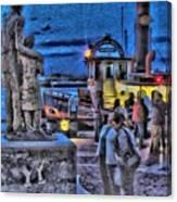River Street Blues Canvas Print