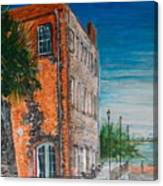 River Street Canvas Print