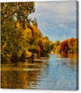 River Thames At Staines Canvas Print
