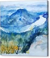 River View Landscape Canvas Print
