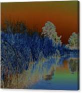 River View Serenity Canvas Print