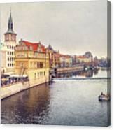 River Vltava Canvas Print