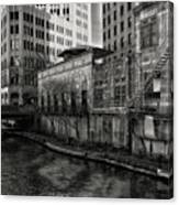 River Walk Canvas Print