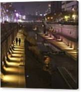 River Walk - Cheonggyecheon - Seoul Canvas Print