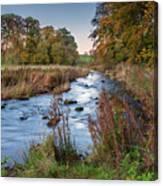 River Wansbeck At Wallington Canvas Print