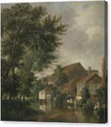 River Wensum, Norwich Canvas Print