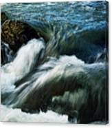 River With Rapids Canvas Print