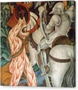 Rivera: Cuernavaca Canvas Print