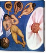 Rivera: Nudes Canvas Print