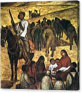 Rivera: Schoolteacher Canvas Print