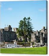 Riverboat At Ashford Castle Canvas Print