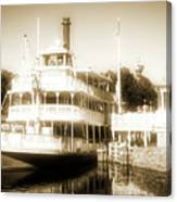 Riverboat, Liberty Square, Walt Disney World Canvas Print