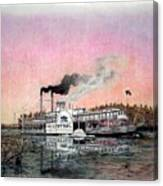 Riverboat Saint Paul Canvas Print
