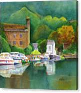 Riverboats Canvas Print