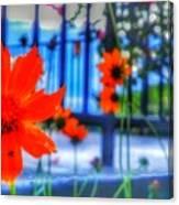 Riverhouse Flowers Canvas Print