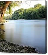Rivers Edge 2 Canvas Print