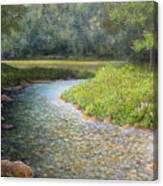 Rivers End Canvas Print