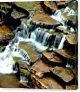 Riverside Place Falls  Canvas Print