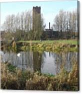 Riverside Walk - Burton On Trent Canvas Print